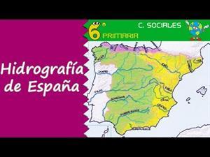 Estudio de la hidrografía de España y Europa