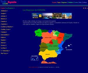 Todo sobre España, las regiones (red200.com)