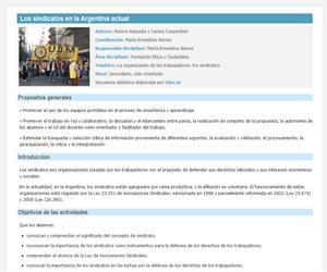 Los sindicatos en la Argentina actual