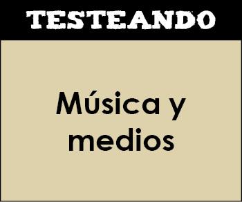 Música y medios. 4º ESO - Música (Testeando)