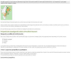 Riqueza subterránea: el Acuífero Guaraní