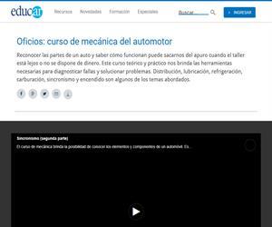 Sincronismo (segunda parte). Mecánica del automotor