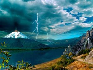 Los volcanes (Biblioteca de Investigaciones)