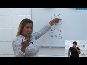 Nombre y escritura de números