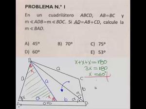 Geometría. Cuadriláteros nivel 1