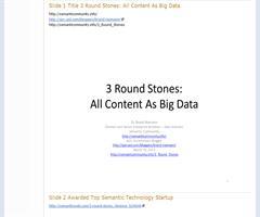 3 Round Stones - Semanticommunity.info