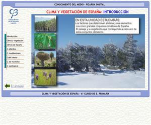 Clima y vegetación de España – Conocimiento del medio – 3º Ciclo de E. Primaria – Unidad didáctica.