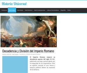 Decadencia y División del Imperio Romano | Historia Universal