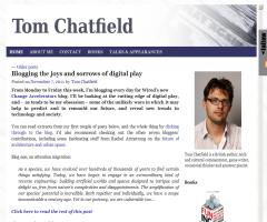 Tom Chatfield, autor de 'Fun inc: why gaming will dominate the 21st century'