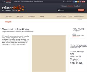 Monumento a Juan Godoy (Educarchile)