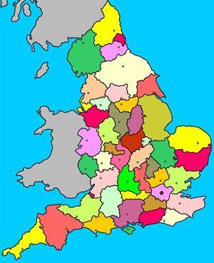 Mapa interactivo de Inglaterra: condados ceremoniales y ciudades (luventicus.org)