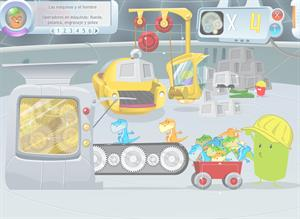 Las fuerzas y el movimiento. Operadores en máquinas (rueda, palanca, engranaje y polea)
