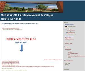Blog de Orientación del IES Esteban Manuel de Villegas Nájera (La Rioja)
