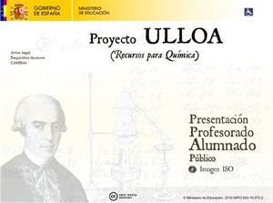 Proyecto Antonio de ULLOA: contenidos básicos en Química