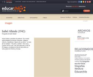 Isabel Allende (1942) (Educarchile)