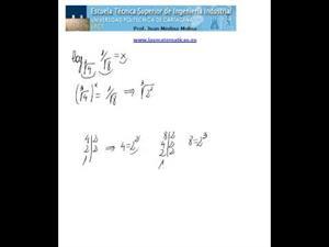 Cálculo de un logaritmo