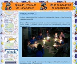 ADC Sancho: Aula para el desarrollo de capacidades (educación infantil y primaria)