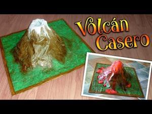Erupción de volcanes: haz el tuyo casero