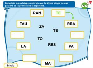 Gramática: La letra, la sílaba y la palabra. Editorial Anaya