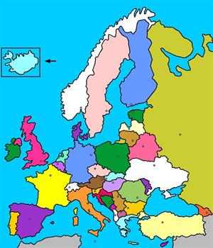 Mapa interactivo de Europa: países y capitales (luventicus.org)