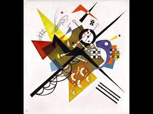Lírica sobre blanco (o Sobre blanco II), de Kandinsky