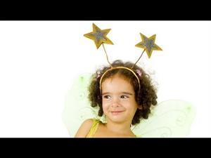 Diadema con estrellas para disfraz de hada