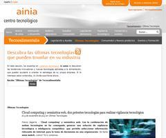 Cloud computing y semántica web, dos potentes tecnologías para realizar vigilancia tecnológica