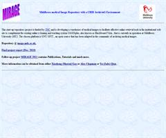 Middlesex medical Image Repository with a CBIR ArchivinG Environment