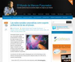 Las redes sociales corporativas como soporte profesional de las empresas: resumen del análisis por Marcos Pueyrredon