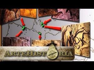 Principales restos artísticos del Paleolítico Superior (Artehistoria)