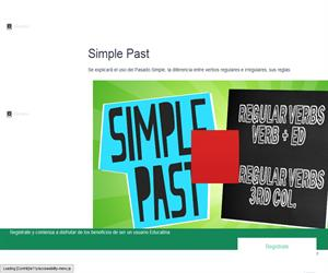Simple Past  in English
