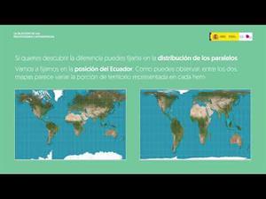 Las proyecciones cartográficas.
