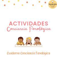 Cuadernillo Conciencia Fonológica