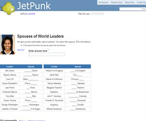 Spouses of World Leaders