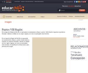 Puertos VIII Región (Educarchile)