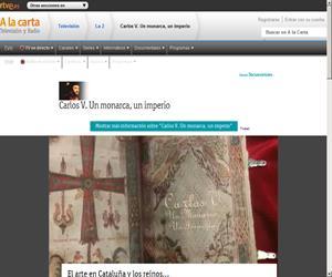 Memoria de España: Carlos V, un monarca, un imperio y una espada (Rtve.es)