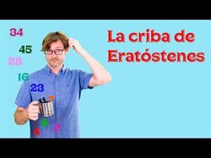 La criba de Eratóstenes