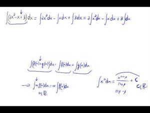 Integral de un polinomio