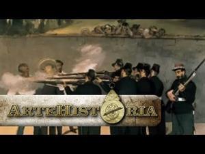 La ejecución del Emperador Maximiliano. Edouard Manet