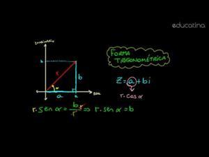Forma trigonométrica de un complejo
