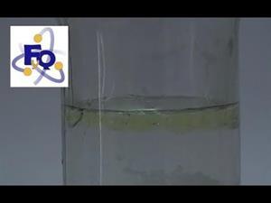 Experimentos de Química (mezclas): ¿Por qué el aceite y el agua no se pueden mezclar?