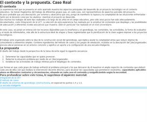 Proyecto tecnológico. Organización interna real
