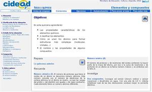 Elementos y compuestos (cidead)