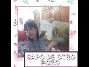 """TEATRO 🎭Cuento""""Sapo de otro pozo"""" Rodrigo Folgueira y Poly Bernatene"""