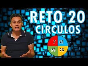 RETO MATEMATICO 20: los círculos