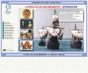 Historia. La época de los descubrimientos – Conocimiento del medio – 3º Ciclo de E. Primaria – Unidad didáctica.
