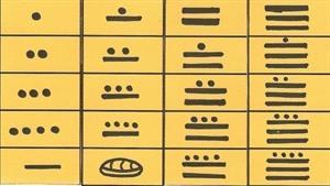 Sistema de numeración y números mayas