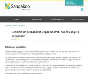 Definició de probabilitat, espai mostral i succés segur i impossible
