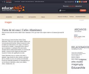 Tierra de mi casa (Carlos Altamirano) (Educarchile)