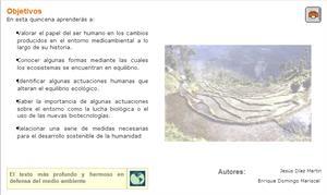 La humanidad y el medio ambiente. Biología y geología para 4º de Secundaria